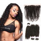 Beautyforever Malaysian Virgin Hair Lace Frontal Closure With 3Bundles