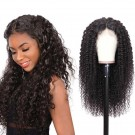 Beautyforever 13x4 Transparent Lace Pre Plucked Jerry Curly Lace Front Wigs 150 Density Wig