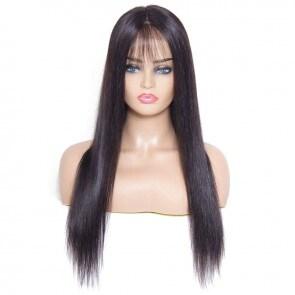 Pre-Plucked Silky Straight Hair Wig