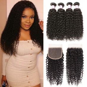 Bundles With Lace Closure Sew In