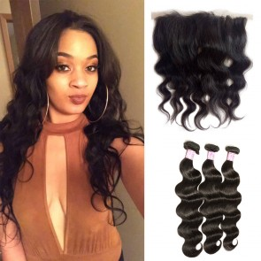 Body wave hair with bundles