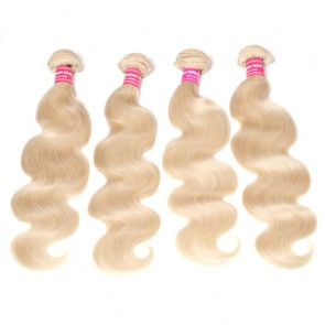Hair Color 613 Blonde 4Bundles Body Wave