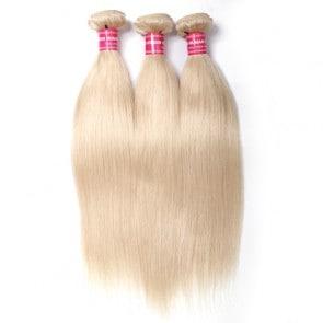 613 blonde straight 3 hair bundles
