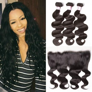Lace Frontal Closure With Bundles