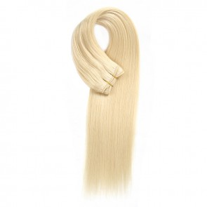 Beautyforever Lightest Blonde 613# Straight Colored Weave Virgin Hair