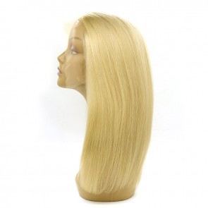 Beautyforever Long Pre-plucked #613 Blonde Human Hair Lace Front Wigs For Women