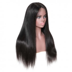 180% Density Straight Lace Closure Wigs
