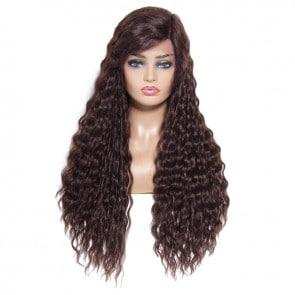 Long Wavy Human Hair Wigs
