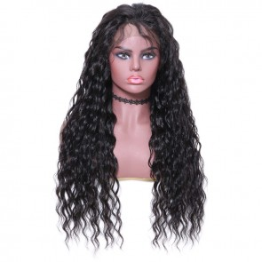 Beautyforever Affordable Long Wavy Human Hair Lace Front Wigs With Baby Hairs 4 Colors