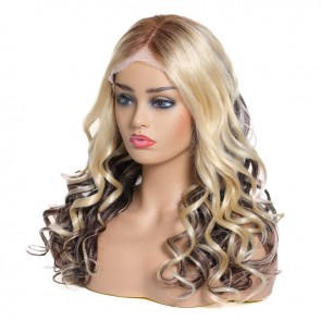 Natural Wave Hair Long Lace Front Wigs