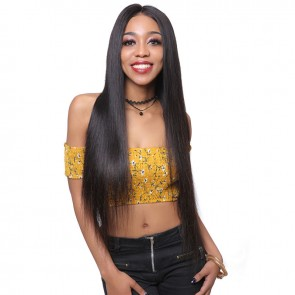 Free Part Long Straight Full Lace Human Hair Wig
