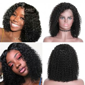 High Grade Short Curly Bob Quick Weave Hairstyle For Sale