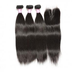 Lace Closure straight hair