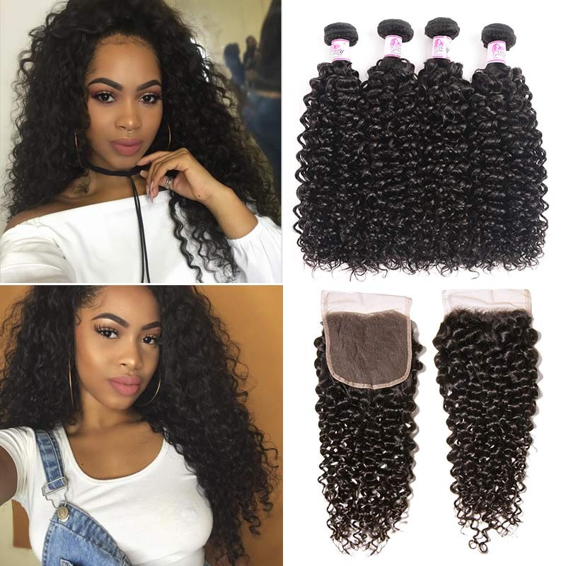 13x6 Lace Frontal With 4 Bundles