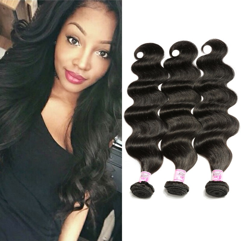 bbc56028eb Beautyforever Brazilian Body Wave 3 Bundles Unprocessed Virgin Hair Weave
