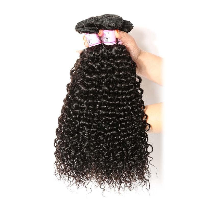 Beautyforever  Virgin Peruvian Hair Jerry Curly 3Bundles