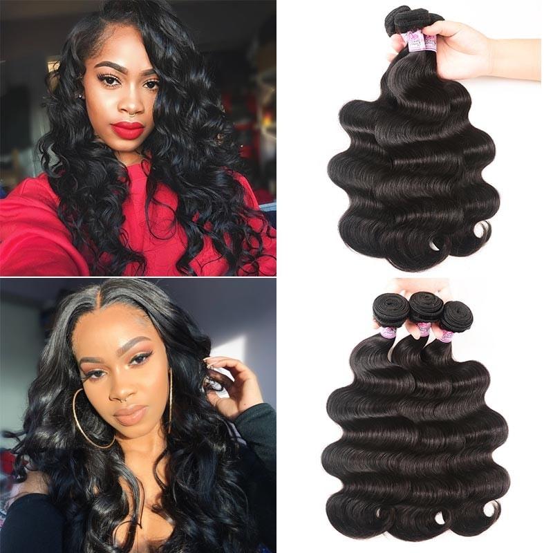 Beautyforever Brazilian Body Wave 3 Bundles Unprocessed Virgin Hair Weave