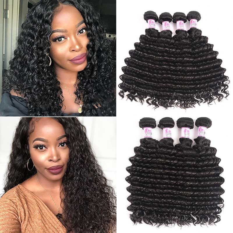 Peruvian 4 Bundles Deep wave