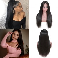 Beautyforever 150% Density Realistic Straight 360 Lace Frontal Human Hair Wigs