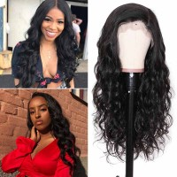 Beautyforever  Realistic Body Wave 4X4 Lace Closure Wigs Human Hair 180% Density
