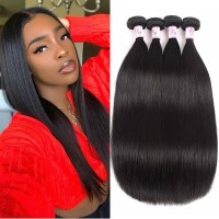 Beautyforever Unprocessed Virgin Malaysian Human Hair Straight 4Bundles