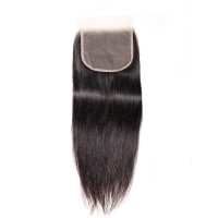 Beautyforever Indian 5x5 Straight HD Lace Closure Sew In Virgin Remy Hair
