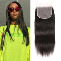 Beautyforever Free Part 5x5 HD Lace Closure Malaysian Straight Hair