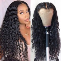 Beautyforever Pre-plucked 360 Lace Frontal Wig Long Natural Wave 150% Density Human Hair Wigs