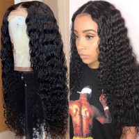 Beautyforever Pre-plucked Deep Wave Full Lace Wig 150% Density Wigs Human Hair Natural Color