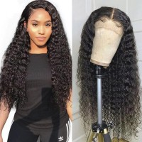 Beautyforever 13x6 Lace Front Water Wave 150% And 180% Density Realistic Human Hair Wigs