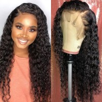 Beautyforever 180% Density Jerry Curly Pre-Plucked 13x4 And 13x6 Lace Front 100% Human Hair Wigs