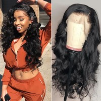 Beautyforever Best Body Wave Lace Front Wig With Baby Hair 150% Density Pre-plucked Virgin Human Hair Wigs