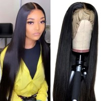 Beautyforever Straight HD Lace Wigs 13*6 and 13*4 Natural Hairline Lace Front Wigs Human Hair