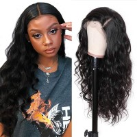 Beautyforever Body Wave Lace Front Wig 150% Density Pre-plucked Human Hair Wigs