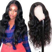 Beautyforever 13X4 Pre-plucked Body Wave Lace Front Wig 100% Human Hair Natural Color