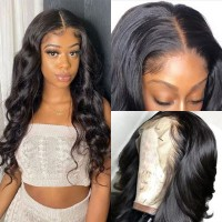 Beautyforever Body Wave Hair Realistic 360 Lace Frontal Wig For Women 150% And 180% Density Virgin Hair