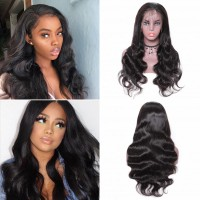 Beautyforever Body Wave Pre-plucked 13x6 Lace Front Wig 150% Density Online Sale