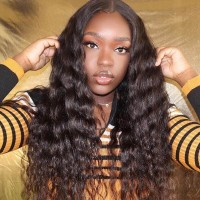 Malaysian Jerry Curly Weave 4Bundles Deals Virgin Hair 1B Color