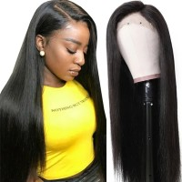 Beautyforever Straight Pre-plucked Human Hair 13x6 Lace Front Wigs For Women 150% Density