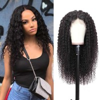 Beautyforever 180% Density Jerry Curly Realistic Lace Front 100% Human Hair Wigs