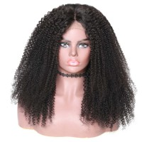 Beautyforever 360 Lace Frontal Kinky Curly 180% Density Human Hair Wigs
