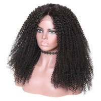 Beautyforever 360 Lace Frontal Kinky Curly 150% Density Human Hair Wigs