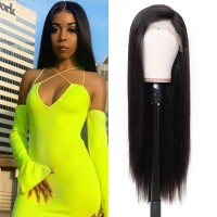 Beautyforever 150% Density Realistic Straight Hair 4x4 Lace Closure Wig Human Hair