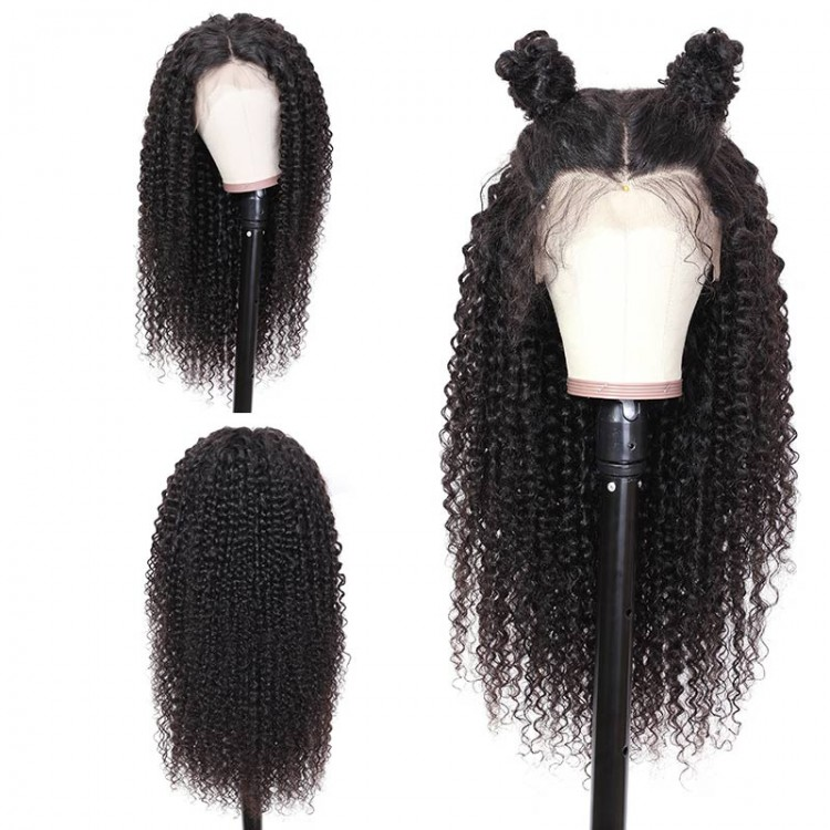 Jerry Curly 360 Lace Front Wigs