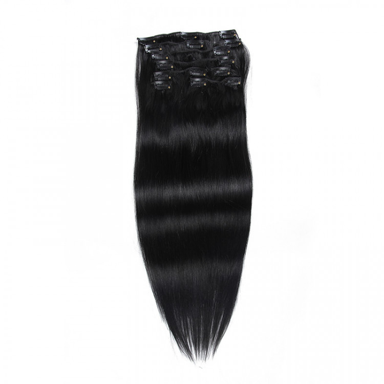 Beautyforever 100gpack Blonde Clip In Human Hair Straight Remy Hair
