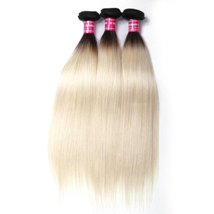 Beautyforever T1b613 Color Ombre Straight Hair Weave 3 Bundles