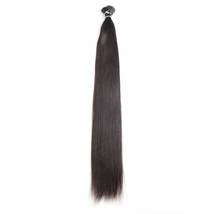 Beautyforever I Tip Fusion Straight Brown Color Remy Hair Extensions