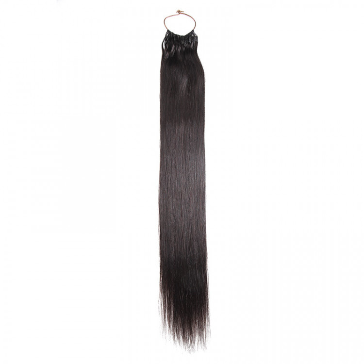 Beautyforever Remy String Human Hair Extensions Chocolate Brown