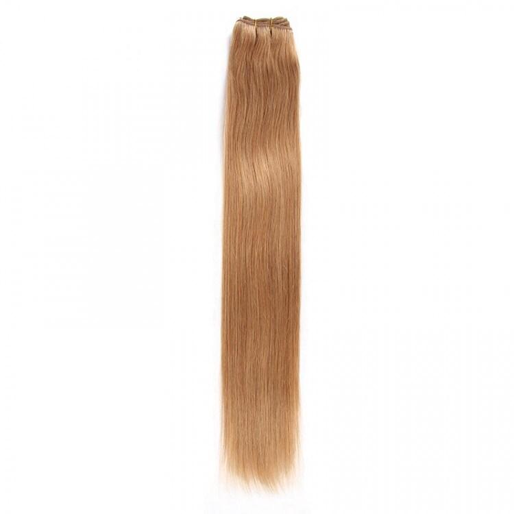 Beautyforever Lightest Blonde 613 Straight Colored Weave Virgin Hair