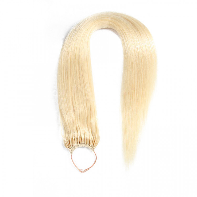 Beautyforever Sandy Blonde 60 String Straight Remy Hair Extensions
